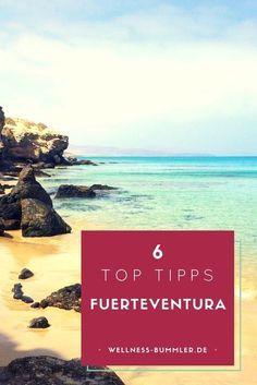 Fuerteventura - Sonne, weißer Strand und schier endloses Meer. Das heißt surfen, chillen, genießen und wer mag auch wandern auf den Kanaren. Eine Insel zum verlieben. Top Tipps und ein Flop der spanischen Insel für sonnigen Urlaub. Kurze Flugzeit von Deutschland, angenehme Temperaturen und Ausblick auf Genussmomente. Fuerteventura oder mögt ihr Lanzarote lieber?