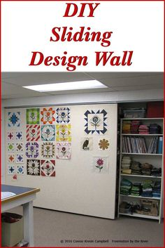 Do It Yourself Sliding Design Wall