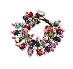 "Color bracelet ""Camelos"" by the Spanish jewellery Uno de 50."