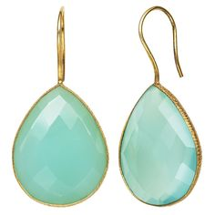 Green Quartz Gold Over Silver Drop Earrings (One Size) ($120) ❤ liked on Polyvore featuring jewelry, earrings, gold jewellery, green quartz earrings, gold jewelry, yellow gold earrings and silver jewelry