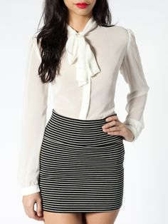 Interlock Mini Skirt   Skirts   New & Now's Women   American Apparel