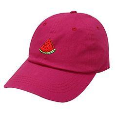 City Hunter, Baseball Cap, Watermelon, Fashion Brands, Amazon, Colors, Hats, Cotton, Stuff To Buy