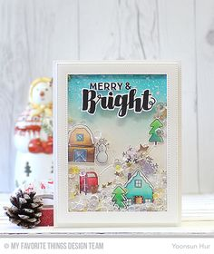 Hello crafty friends, blessed Sunday! Welcome to theMy Favorite Things October Release Countdown Day 3. Today I want to share with you the cards I've made usingWinter Wonderland stamp set, and Sn...