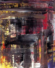 abstract oil on canvas - Gerhard Richter 1990 Abstract Nature, Abstract Canvas, Abstract Paintings, Art Paintings, Gerhard Richter Painting, Cy Twombly, Texture Art, Abstract Expressionism, Les Oeuvres
