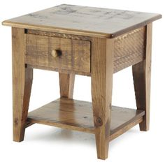 Bigger end table with drawer . .