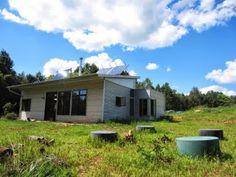 Modern Prefab House Is Off Grid Passive Solar And Headin' Towards Fall.