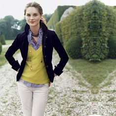 Love this jacket  ~PREP | [From an old J.Crew catalog]