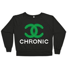 CoCo Chronic Raglan - Some Girls Get High #fashion #weed #marijuana