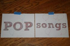 Hum Your Favorite Hymn: POP Songs - idea good for Father's Day