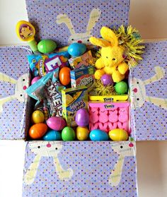 Military care package easter cares for you pinterest military easter themed military care package negle Image collections