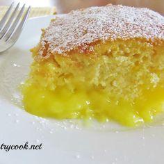 Warm Lemon Pudding Cake recipe