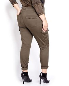 4e4dfc25595b6 Nadia Aboulhosn Cargo Pant for L L. Nadia AboulhosnAddition ElleCargo PantsPlus  Size ...