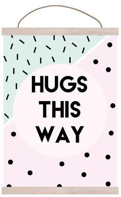 HUGS THIS WAY @kristinhack