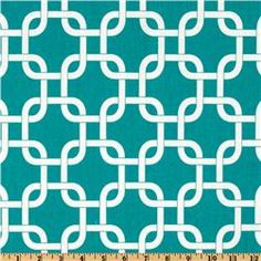 Premier Prints Gotcha True Turquoise  Would look great as a curtain, and even better pillows