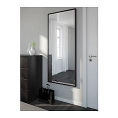 IKEA - STAVE, Spiegel, weiß, 70x160 cm, , Kann horizontal oder vertikal aufgehängt werden.Mit Sicherheitsfolie - so lässt sich das Verletzungsrisiko minimieren, falls das Glas zerbricht.