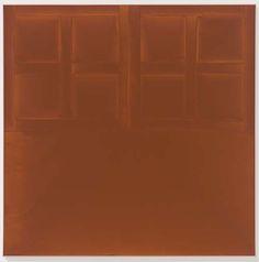 James Bishop, Slate (1972), All images courtesy David Zwirner gallery.