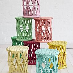 """THE BIG KID STOOL - you will never need a naughty chair again!  Available in a kaleidoscope of colours. $99 - available online and instore #bigkidsstools…"""
