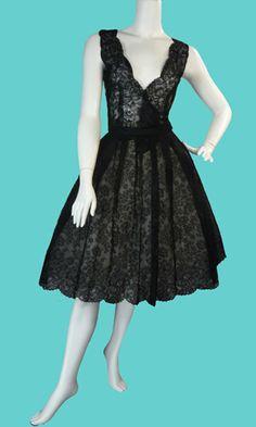Vintage party dress.
