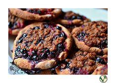 Kuchařka ze Svatojánu: OVOCNÉ KOLÁČKY Polenta, Cookies, Chocolate, Food, Biscuits, Meal, Schokolade, Essen, Hoods