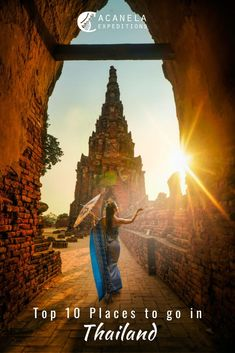 "This country is literally referred to as ""the Land of Smiles."" This slogan was created by friendly Thai people who welcome tourism. Thailand is known for its rich culture, gorgeous beaches, elephants, martial arts, and it's many glorious temples! This is a lovely country that is inexpensive, adventurous, and is exquisitely unique. Here are the top ten places to go in Thailand that you can't miss when going on a vacation there!"