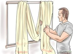 Instructions On How To Hang A Scarf Valance Ehow Co Uk