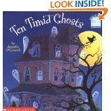 Ten Timid Ghosts - Great for Language Arts & Math