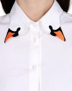 Autour du cou, ces 20 cols de chemise créatifs offrent une très belle allure !