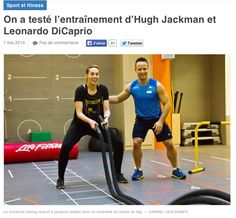 On a testé l'entrainement d'Hugh Jackman et Leonardo DiCaprio #workout #gym #functionaltraining #cardio #renforcement #CMGsportsclub #Nike Photo by : Gabriel Deschamps