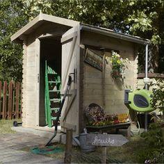 Abri de jardin en bois Bex, 2.5 m², ép. 19 mm