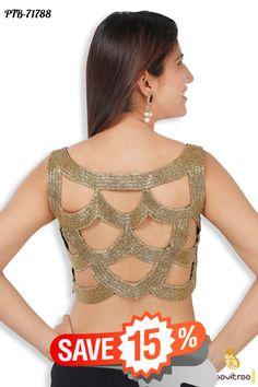 Larest Designer #blouse online shopping collection http://www.pavitraa.in/store/designer-blouse/