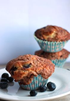 Erren's Kitchen - This recipe for Blueberry Crumb Cake Muffins combines two classics – Crumb Cake and blueberry muffins!