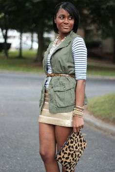 Tips on how to layer your look in the summer weather!