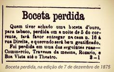 Anúncio publicado no jornal A Província de S. Paulo, que depois virou O Estado de S. Paulo