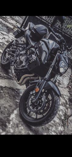 Yamaha Mt07, Cool Bikes, Bikers, Motorbikes, Motorcycles, Wheels, Vehicles, Street Bikes, Carport Garage