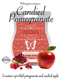 Scentsy 2016 | Candied Pomegranate |New release | Fall & Winter | #scentsy…