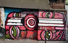 Lieux   Rue de l'Ourcq   Paris Street Art
