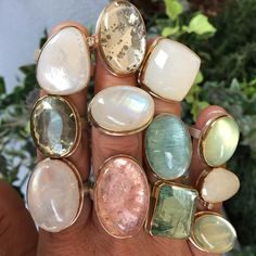 Jamie Joseph Power Rings available in so many amazing gemstones! Round Cut Diamond Rings, Baguette Diamond Rings, Cute Jewelry, Jewelry Rings, Silver Jewelry, Silver Bracelets, Jewlery, Vintage Engagement Rings, Fashion Jewelry