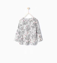 ZARA - KIDS - Large blouse with kimono sleeves