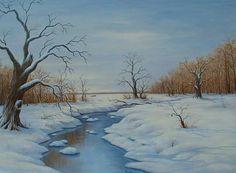 paintingssnow scenes | Paintings Snow Scenes Pictures