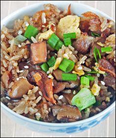 KitchenTigress: Fried (Glutinous) Rice Paradise