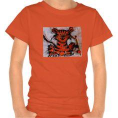 little tiger kids tee shirt
