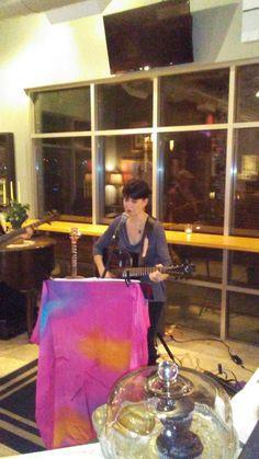 Anastasia Vishevsky at Caffe Tempo 11-16-17.