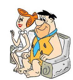 Wilma And Fred Flintstone Good Cartoons, Nickelodeon Cartoons, Famous Cartoons, Free Cartoons, Animated Cartoons, Popular Cartoons, Animated Gif, Today Cartoon, Vintage Cartoon