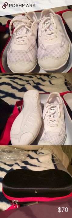 NFINITY Cheer shoes 6.5 New Nfinity Cheer shoes white New 2 oz in wt. Nfinity Shoes Athletic Shoes