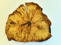 Zegar ścienny naturalne drewno