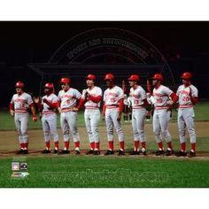 The Big Red Machine - Cincinnati Reds 1975 World Series Line Up 8x10 Photo