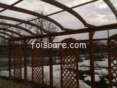 Pergole lemn cu arcada pentru intrare in curte Outdoor Structures