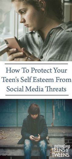 How To Protect Your Teen's Self Esteem From Social Media Threats. #Teen #Teens #TeenGirls #TeenBoys #Technology #SocialMedia #Digital #CyberBullying #SelfEsteem #TeenMentalHealth #Parenting #Kids #CellPhone #TeenCellPhones #TeensandTechnology #TeenTech #Tech #RaisingTeens #ParentingTeens