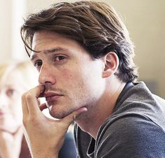 David Oakes in rehearsal for Three Farces (2011)