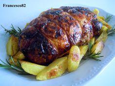 Rotolo di pollo arrosto